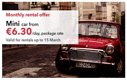 Monthly rental offer
